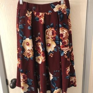 Haute Monde Floral Skirt